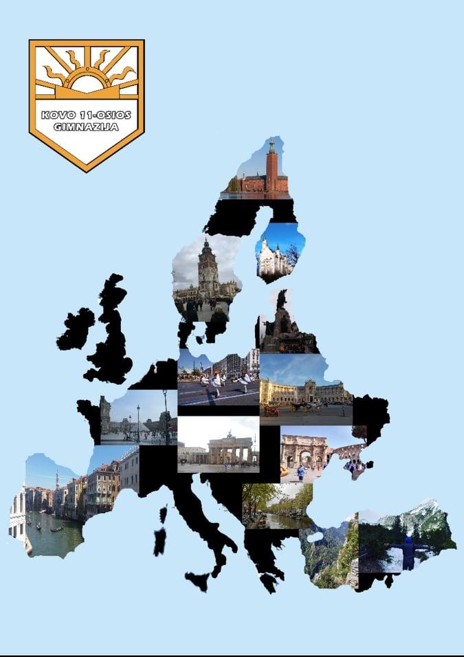 """Projektas """"Atrask Europą"""""""