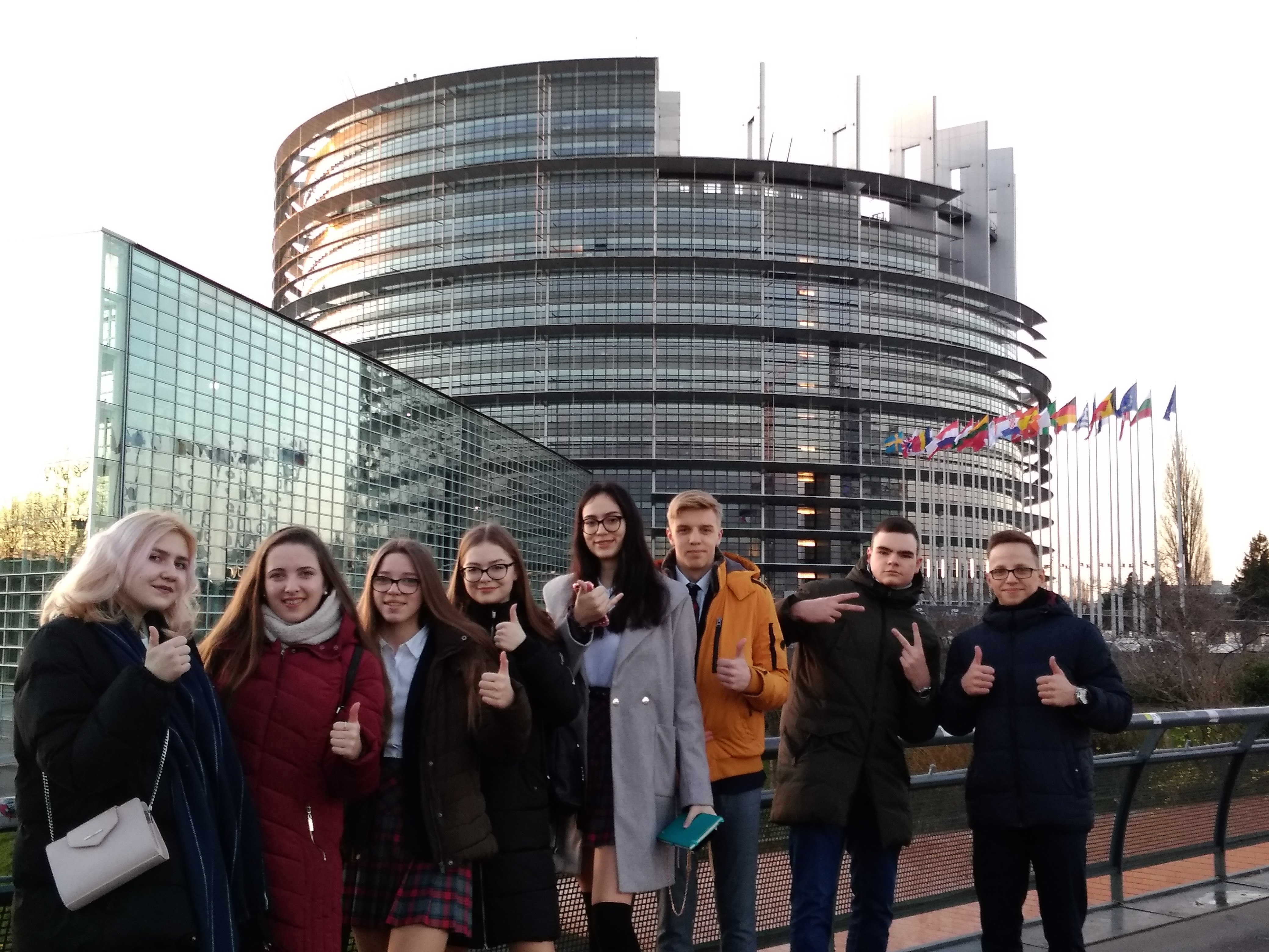 MEPA jaunųjų ambasadorių kelionė į Europos Parlamentą