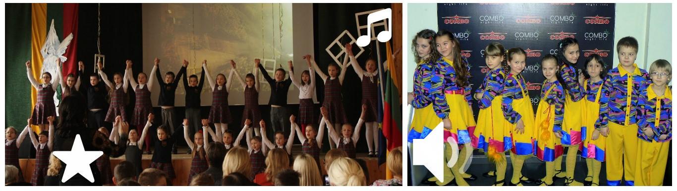 Dainos ir šokio teatre
